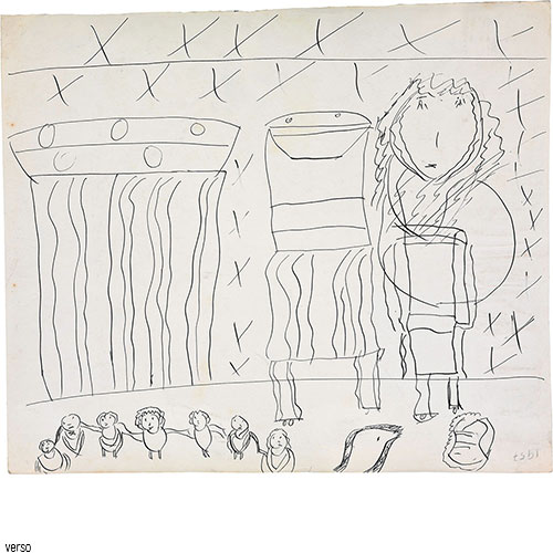 Jaqueline Bartes, ohne Titel, 1957