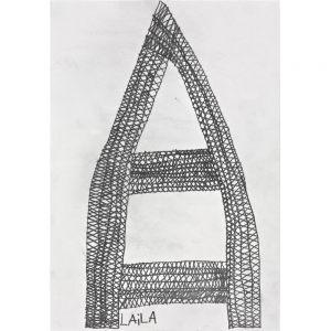 Laila Bachtiar, Eiffelturm, 1992