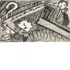 Madge Gill, ohne Titel, undatiert
