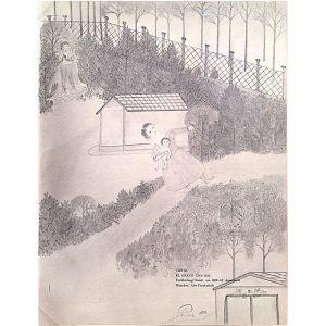 Otto Prinz, Mystischer Garten, undated