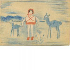 Bertha Wuilleumier, ohne Titel, 1953