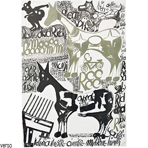 Carlo Zinelli, Due cavalli verdastri stellati, 2 febbraio, 1967