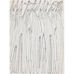 Oswald Tschirtner, Die Blinden, 1973