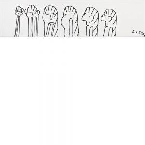 Oswald Tschirtner, Menschen, 2002