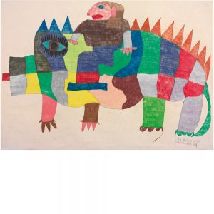 Laila Bachtiar, Krokodil Laila auf, 2001