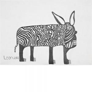 Leonhard Fink, Ein Esel in Black, 2007
