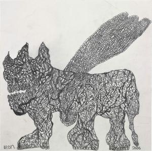 Leonhard Fink, Ein Geflügelter Panther ...,  2006