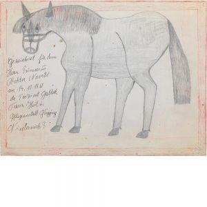 Franz Gableck, Pferd, 1968