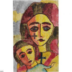 Paul Goesch, Maria mit Kind, 1920s
