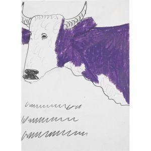 Franz Kamlander, Kuh, undatiert
