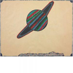 André Robillard, La planète Saturne, undatiert