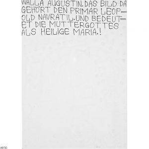 August Walla, MARIA GÖTTIN, 1994