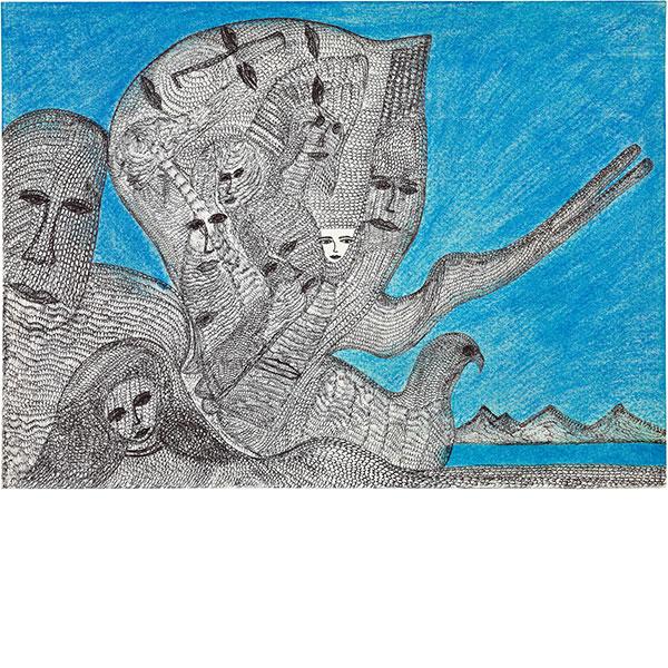 Mehrdad Rashidi, untitled, 2020