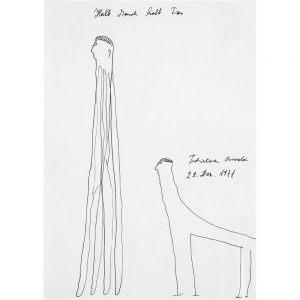 Oswald Tschirtner, Halb Mensch halb Tier, 1971