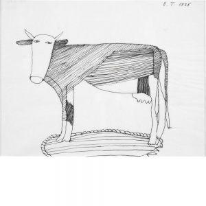 Oswald Tschirtner, Kamlander Kuh, 1975